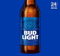 Bud Light Beer 24 pack 12 fl oz Walmart