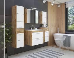 comad ibiza set waschtisch mit unterschrank hochschrank und spiegelschrank