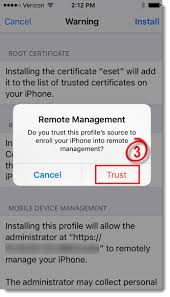 ESET Mobile Device Management for Apple iOS 6 5 and later —ESET