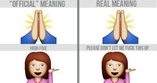 desk meme meaning the official vs real meanings of your favorite emojis 23 pics
