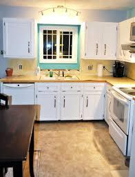 kitchen decoration using white wood kitchen cabinet including