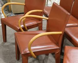 Lot Of 6) Arper Italian Leather Dining Chairs – Lofty Marketplace Designer Orange Fabric Upholstered Midcentury Eames Style Accent Ding Chairs Kitchen Ikea Gallery Burnt Leather Living Room Fniture Buildsimplehome Nyekoncept 16020077 Harvey Eiffel Chair In On Martha Set Of 2 Urban Ladder Burnt Orange Jeggings Bright Lights Big Color Woven Wisteria Blackhealthclub Leighton Pair Stud Chenille Effect Black Legs Lincoln Amish Direct Ujqiangsite Page 68 Contempory Ding Chairs Chair