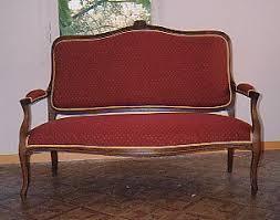canape louis 15 canapés tapissier decorateur lieux les lavaur atelier d