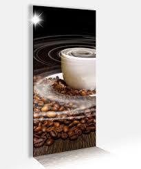 acrylglasbild 40x100cm kaffee tasse coffee bohnen küche glasbild bilder acrylglas acrylglasbilder wandbild 14b100 wandtattoos und leinwandbilder