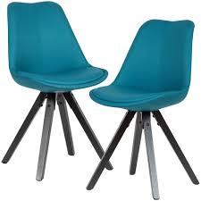 wohnling 2er set esszimmerstuhl petrol mit schwarzen beinen stuhl skandinavisch polsterstuhl mit stoff bezug design küchenstuhl gepolstert