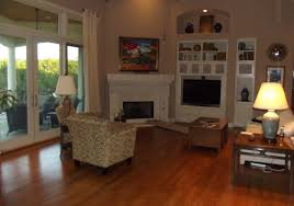 Awkward Living Room Layout With Fireplace by Wall Mount Tv Corner Stand Ideas Decorating A Living Room With