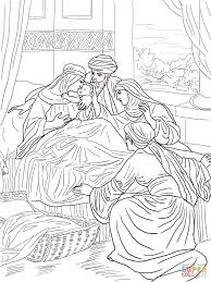 Click The Birth Of John Baptist Coloring Pages