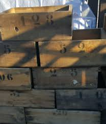 Rustic Wedding Old Wooden Crates