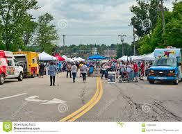 100 Vendor Trucks Street S At Food Festival Editorial Stock Photo Image Of