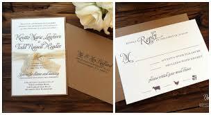 Rustic Engagement Invitations