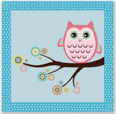 Baby Nursery Decor Kids Suitable Cute Picture Baby Owl Nursery