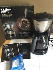Braun KF570 10 Cup Coffee Maker 220 240 Volts Non USA Compliant