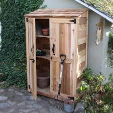 4x6 Wood Storage Shed by 4 U0027 X 2 U0027 Cedar Garden Storage Shed