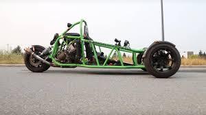 100 Truck Launch Maniac 2 Check Out This Custom Kawasaki Ninja 900RPowered Trike The Drive