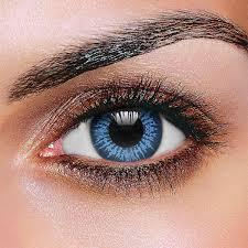 Big Eye Cool Blue Contact Lenses Pair Fruugo