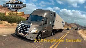 100 Cascadia Trucks Freightliner 2018 Truck V10 Edited 132x ATS American