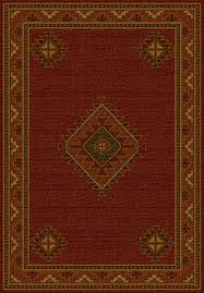 Wonderful Burgundy Buttes Lodge Area Rug Cabin Place Throughout Rugs Popular