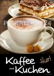 poster kaffee und kuchen kaffee und kuchen kuchen