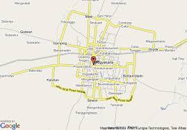 Hyatt Regency Yogyakarta Map