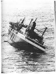 Cruise Ship Sinking 2007 by Kodiak Maritime Museum The Prinsendam Fire October 1980