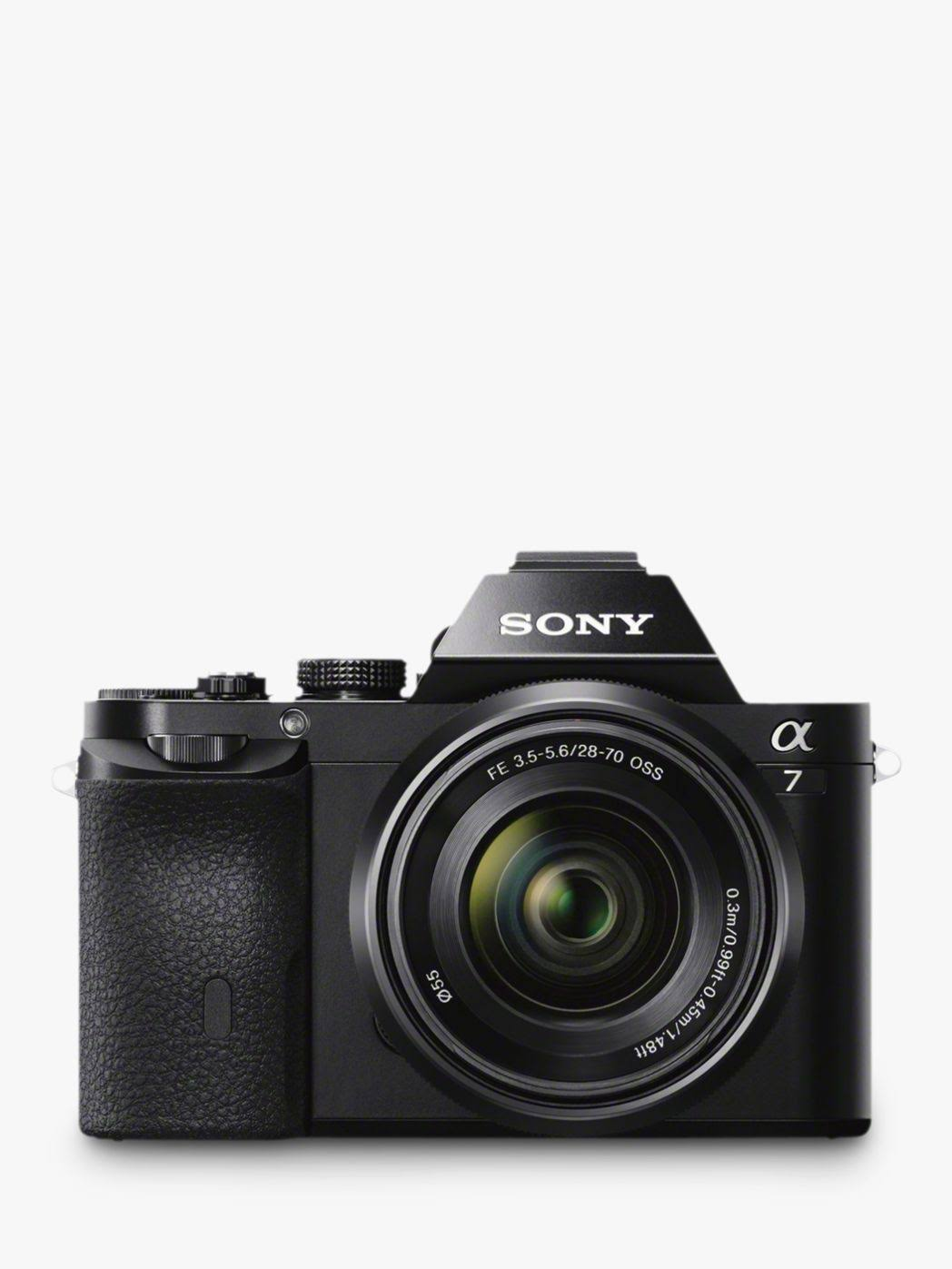 Sony Alpha 7K DSLR - Black