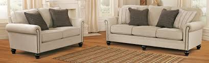 buy ashley furniture 1300038 1300035 set milari linen living room