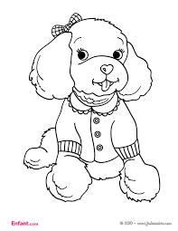 dessin pour imprimer dessin de coloriage chien à imprimer cp07601
