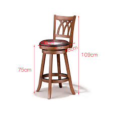 Amazon.com: MLX Solid Wood Bar Chair, American Bar Stool, Rotating ... Summer Main 18 Inch Doll Fniture Wooden High Chair With Lift About Us American Victorian Childs High Chair Slat Back Dolls 3in1 Windsor High Date 17901800 Dimeions 864 Girl Bitty Baby Childs Painted Ladder Back Top Patio Eagle 20th Century Early Corner Favorites Crib Chaingtable Washer Dryerchaing Video Red Heart Chaing Table In Blossom 4 1 Highchair Rndabout Ingenuity