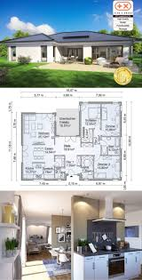100 Modern Design Homes Plans Bungalow Country Style Architecture House SH 169