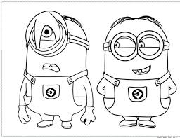 Minion Banana Coloring Pages Online Free Movie