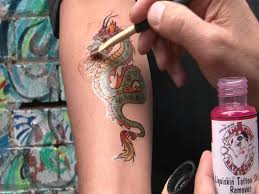 Temporary Tattoos Now Look Real