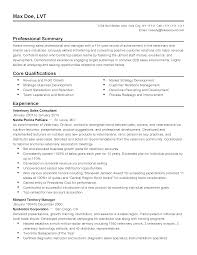 Resume Templates Veterinary Sales Manager