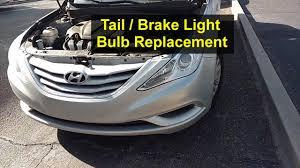 and brake light bulb replacement hyundai sonata votd
