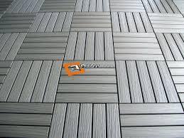 Rubber Deck Tiles Beautiful Outdoor Balcony Flooring Plastic Waterproof Beautif