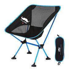 Lightweight Portable Camping Moon Chair - Moustache® , Gen 2 - Red