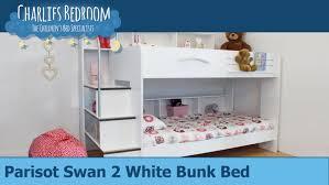 parisot swan 2 bunk bed charlies bedroom youtube