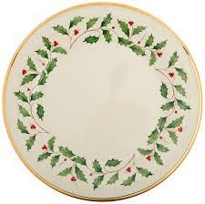 Spode Christmas Tree Cookie Jar by Amazon Com Lenox Holiday 12 Piece Dinnerware Set Kitchen U0026 Dining