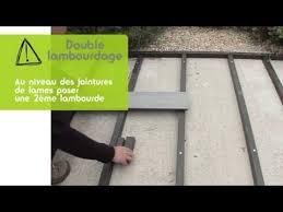 poser une terrasse lambourde composite sur dalle béton ocewood