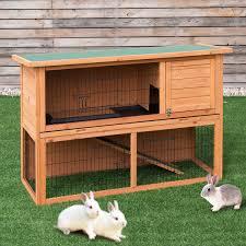 Boomer George Cottage Chicken Coop Rabbit Cage Hutch