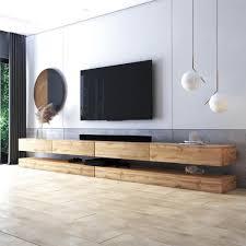 selsey tv lowboard hylia in holzoptik wotan eiche 2x140 cm breit