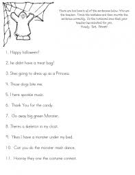 Spookley The Square Pumpkin Activities Pinterest by Punctuation Activities Free Halloween Boo Boos Worksheet Fun Way