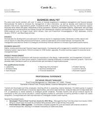 Business Analyst Resume Sample Examples Indeed