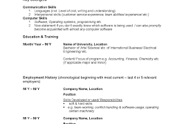 Resume Templates Customer Service Sample For Post Canadian S Government Jobs X Word Tem Full