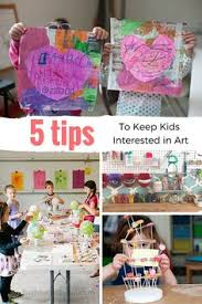 Five Tips To Keep Kids Interested In Art