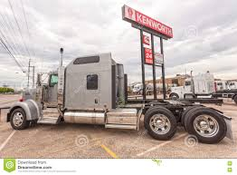 Classic Kenworth W900 Semitrailer Truck Editorial Image - Image Of ...