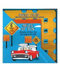 100 Truck Games 365 Parragon Travel Miles Of Fun Car Bingo Game Set Zulily