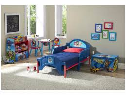 Toddler Bedroom Set Furniture Paw Patrol 3 Piece Bed Toy Organizer
