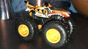 100 Shark Wreak Monster Truck Tiger Hot Wheels S Review YouTube