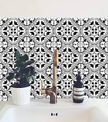 tanger marokkanische fliesenaufkleber zum abziehen und aufkleben für küche backsplash badezimmer boden holz glas metall linoleum wasserfest