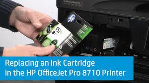 Hp Printer Help Desk by Hp Officejet Printers Replacing Ink Cartridges Hp Customer